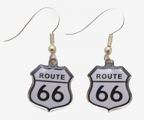 Boucles d'oreilles - E-2295 - Route 66 Earrings -  EN STOCK