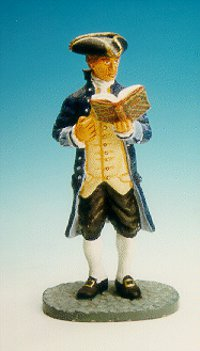 CC01 - Thomas Jefferson, standing and reading
