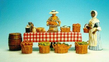CC08 - Martha Cripps, vegetable table and black maid