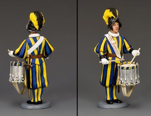 CE023 - Swiss Guard Drummer