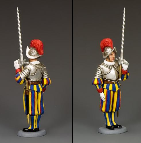CE027 - Swiss Guardsman with Two-Handed Sword