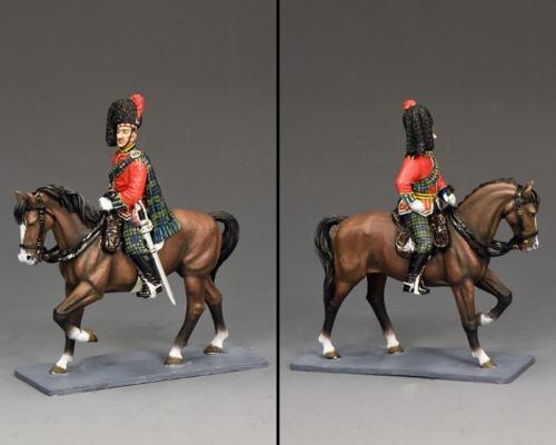 CE029 - Mounted Black Watch Officer - disponible début septembre