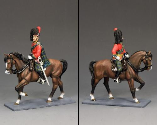 CE029 - Mounted Black Watch Officer