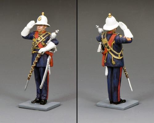 CE044 - Royal Marine Drum Major