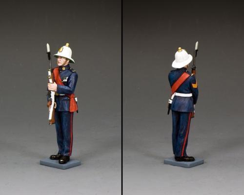 CE047 - Royal Marine Sergeant Presenting Arms