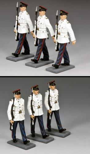 CHK-S03 - The Royal Hong Kong Regiment On Parade, Extra Troopers