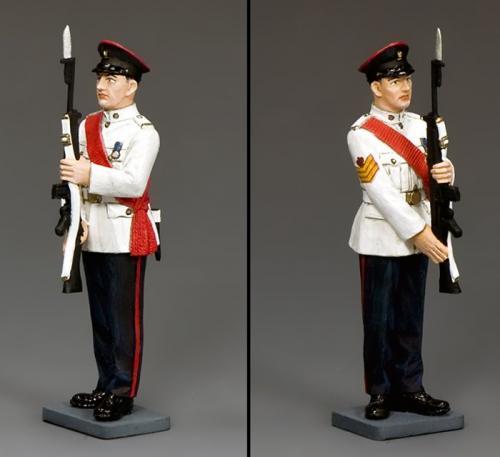 CHK006 - RHKR Staff sergeant Present Arms