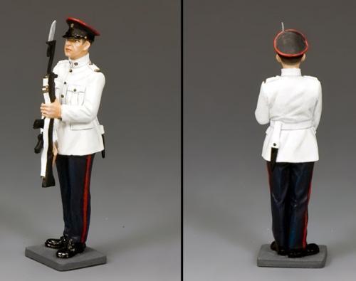 CHK011 - RHKR Trooper Present Arms