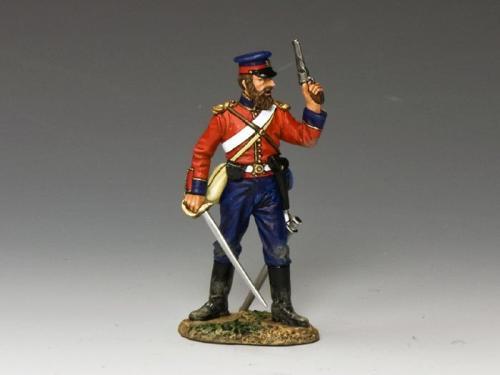 CR001 - British Officer with Pistol  Sword