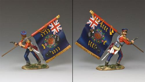CR014 - The Regimental British Standard Bearer
