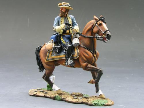 CW010 - Mounted Jeb Stuart - EPUISE mais 1 dernier exemplaire en stock