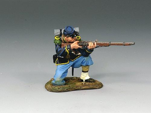 CW028 - Union Kneeling Firing Rifleman