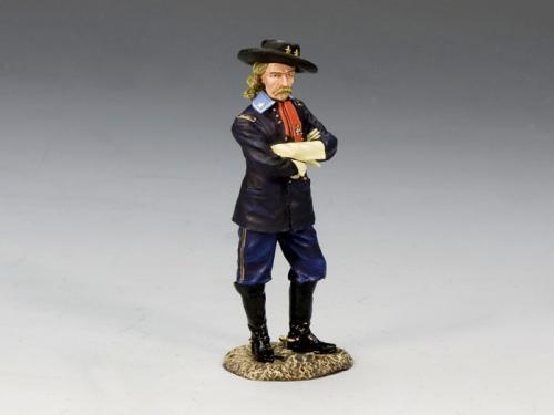 CW053 - Brevet Major General George Armstrong Custer - EPUISE mais 1 dernier exemplaire en stock