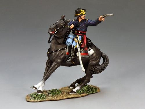 CW061 - Mounted Officer Firing Pistol - EPUISE mais 1 dernier exemplaire en stock