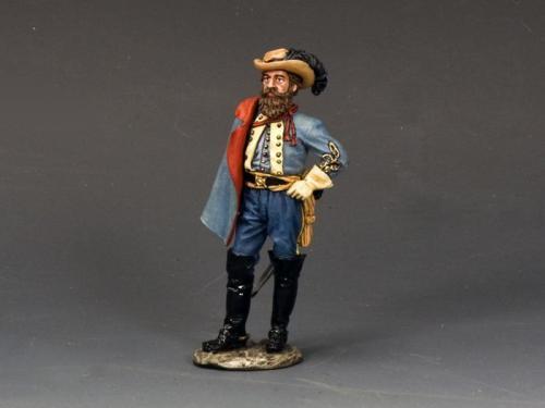 CW085 General J.E.B. Stuart - EPUISE mais 1 dernier exemplaire en stock
