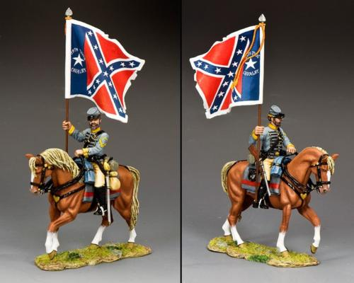 CW104 - 29th Texas Cavalry Flagbearer - disponible début janvier 2021