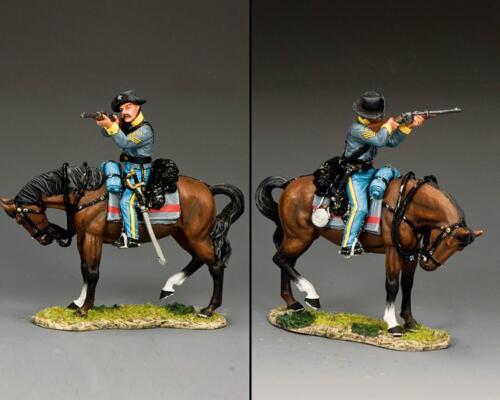 CW109 - Confederate Cavalry Sergeant Firing Carbine