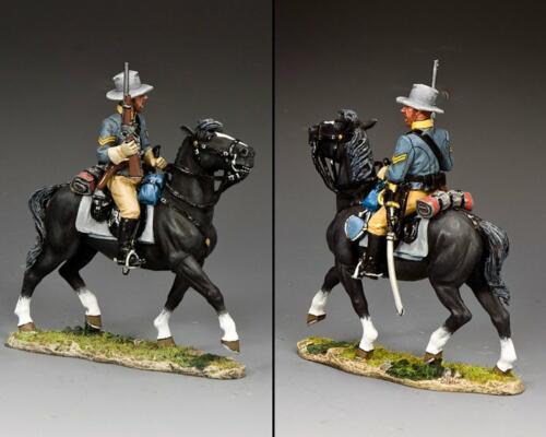 CW110 - Confederate Cavalry Corporal Holding Carbine