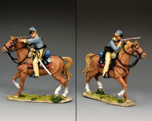 CW112 - Confederate Cavalry trooper Aiming Carbine