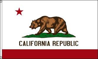 California Flag - Drapeau de l'état américain de CALIFORNIE - EN STOCK
