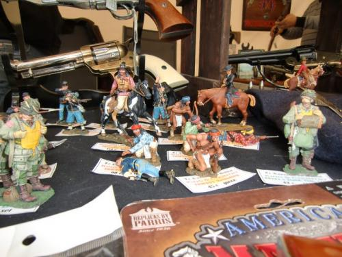 Chièvres 2016 - American Market - Stand du royaume du Soldat - Some Toy Soldiers from King and Country