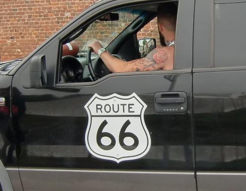 Chièvres 2016 - Route 66