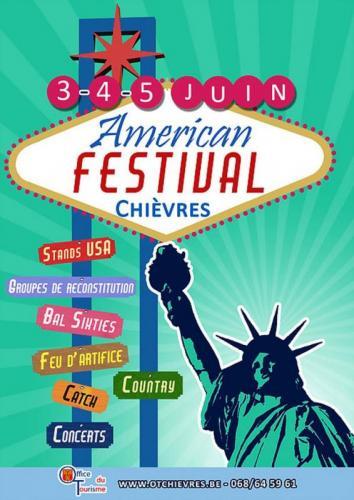 Affiche Chièvres American Days juin 2016