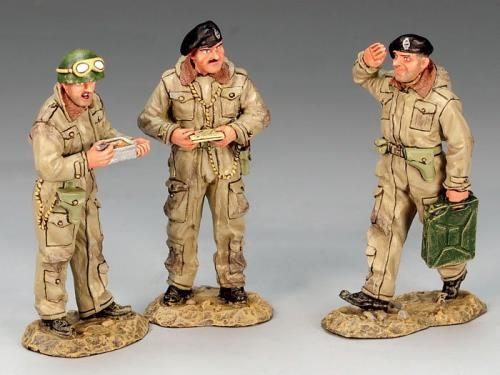 DD136 - British Standing Crewman Set