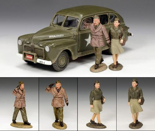 DD154(SL) - The Eisenhower Staff Car Set