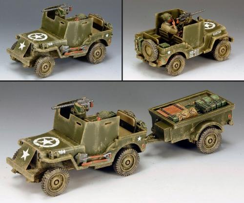 DD161 - US Armoured Jeep