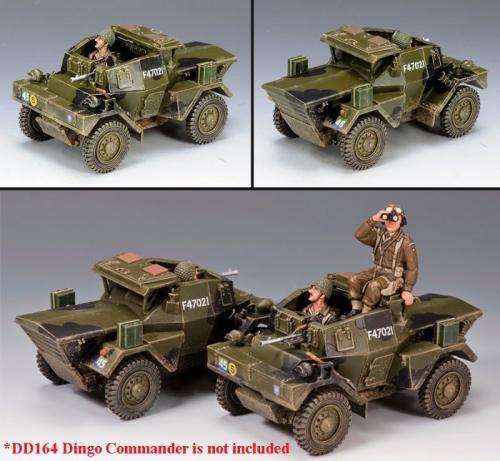 DD163- British Dingo Armoured car Normandy (série limitée à 250 exemplaires)
