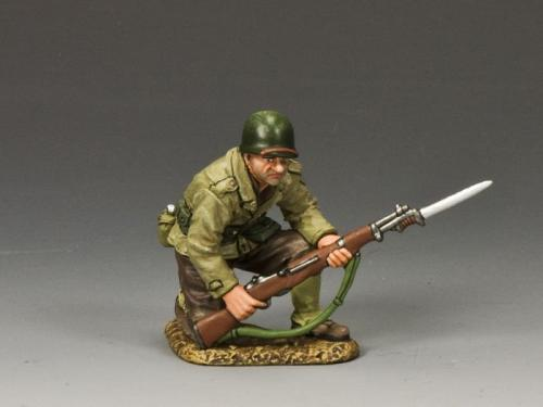 DD186 - US Kneeling with Rifle Bayonet
