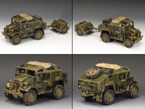 DD202 - Morris C8 Field Artillery Tractor and Limber