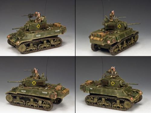 """DD223 - M3A3 """"Stuart"""" Light Tank"""