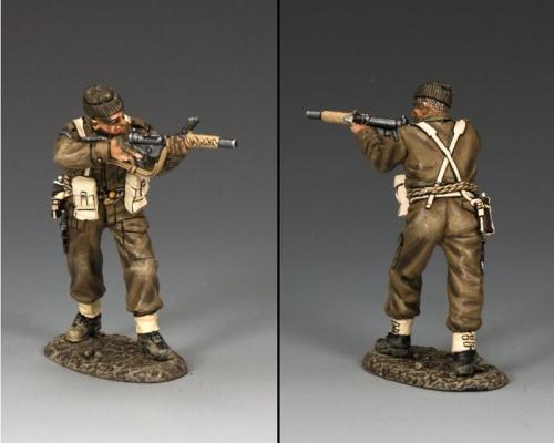 DD234 - British Para with Sten Gun with Silencer