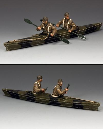 DD238 - British Para, Paddling into Battle