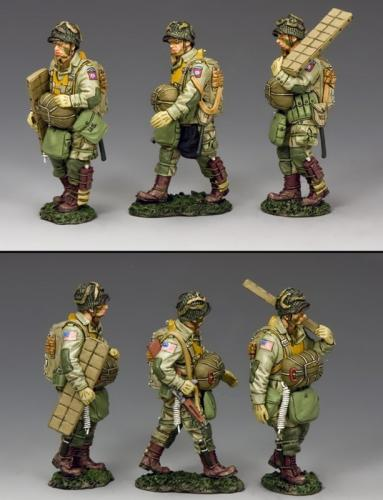 DD265-1 - Walking US Paras Set (82nd Airborne)