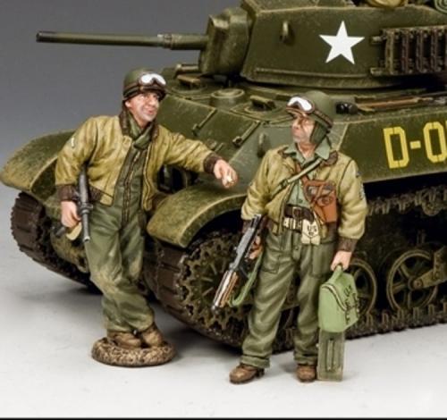 DD282 - Tank Crew Set 3