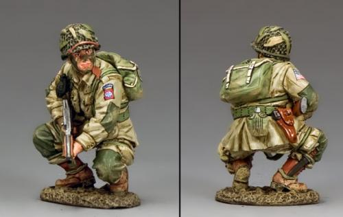DD286-1 - US Paratroopers Crouching Tommy  (82nd Airborne)