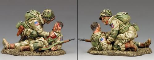 DD287-1 - US Paratroopers Blast Injury (82nd Airborne)