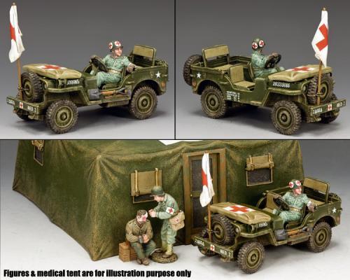 DD293 - U.S. Army Medics Jeep
