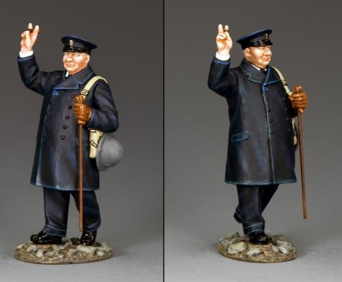 DD296 - Prime Minister Winston Churchill