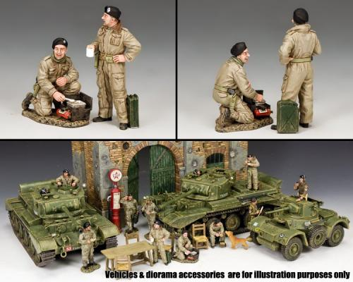 DD302 - British Dismounted AFV (Armoured Fighting Vehicule) Crew Set 2