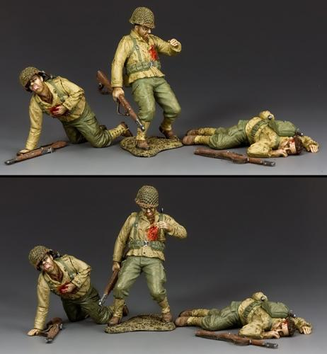 DD317 - Dead and Wounded GI's