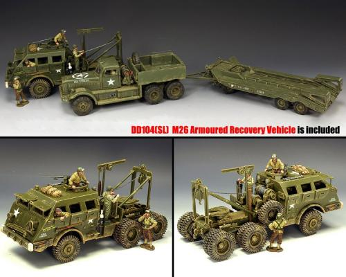 DD318-S01 - DD318 Diamond T with DD104(SL) M26 Recovery Vehicule