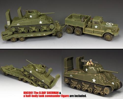 DD318-S03 - DD318 Diamond T and KnC01 The Normandy Sherman - disponible début mai mais uniquement en pré-commande