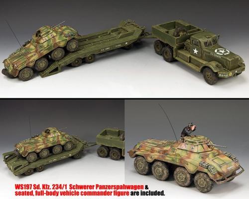 DD318 - S04 - DD318 Diamond T plus Ws197 Sd. Kfz. 234-1 Schwerer Panzerspahwagen - disponible début mai mais uniquement en précommande