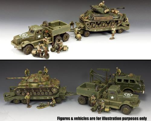 DD318 - The Diamond T Tank Transporter Set - disponible début mai