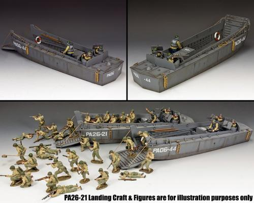 DD329 - Normandy 44 LCVP Landing Craft