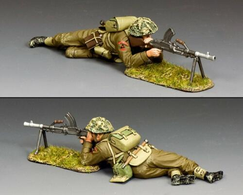 DD342(G) - British Lying Prone Bren Gunner with Grass Base - disponible début novembre